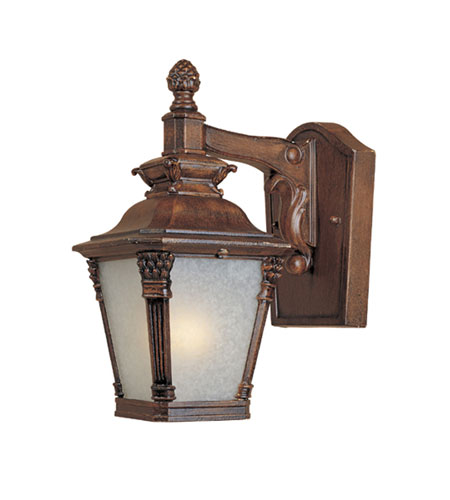 Designers Fountain Lancaster 1 Light Outdoor Wall Lantern in Aged Venetian Walnut 20701-AVW photo