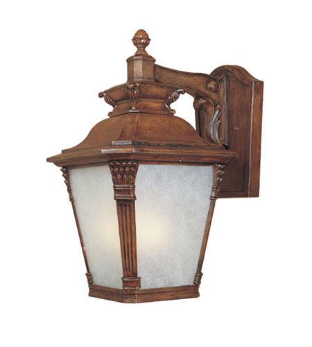 Designers Fountain Lancaster 4 Light Outdoor Wall Lantern in Aged Venetian Walnut 20731-AVW photo