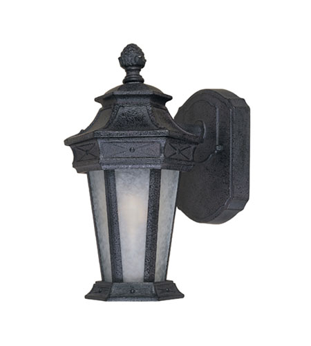 Designers Fountain Grand Court 1 Light Outdoor Wall Lantern in Russet 20801-RST photo