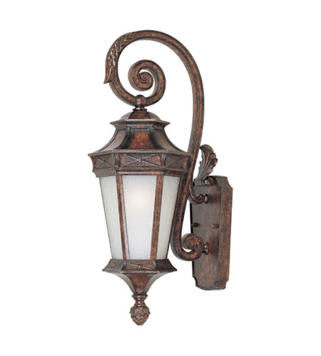 Designers Fountain Grand Court 1 Light Outdoor Wall Lantern in English Burl 20811-EL photo