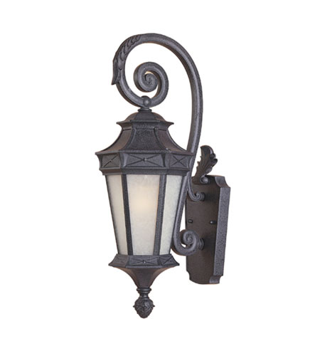 Designers Fountain Grand Court 1 Light Outdoor Wall Lantern in Russet 20811-RST photo