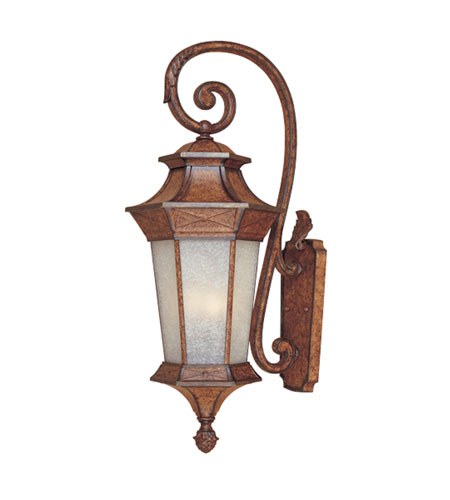Designers Fountain Grand Court 4 Light Outdoor Wall Lantern in English Burl 20841-EL photo