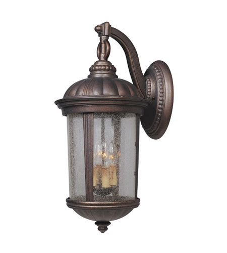 Designers Fountain Hampton Court 4 Light Outdoor Wall Lantern in Mediterranean Patina 21231-MP photo