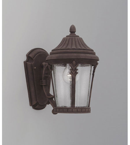Designers Fountain Clermont 1 Light Outdoor Wall Lantern in Autumn Gold 2242-AG photo