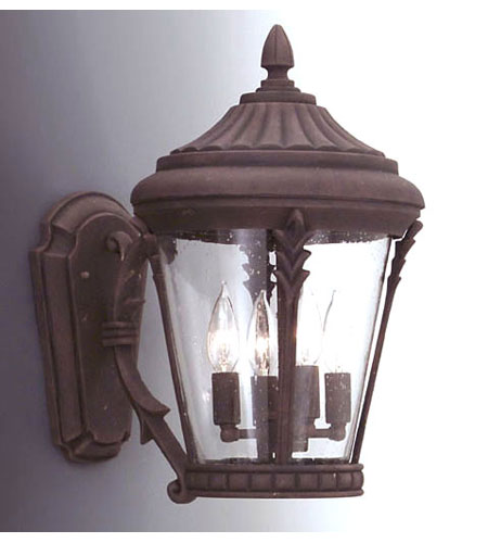 Designers Fountain Clermont 3 Light Outdoor Wall Lantern in Autumn Gold 2252-AG photo