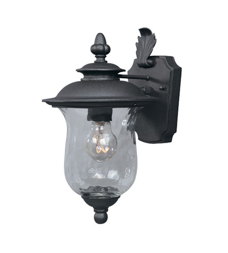 Designers Fountain Willow Creek 1 Light Outdoor Wall Lantern in Oil Rubbed Bronze 2271-ORB