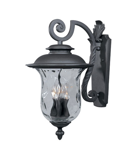 Designers Fountain Willow Creek 4 Light Outdoor Wall Lantern in Oil Rubbed Bronze 2291-ORB