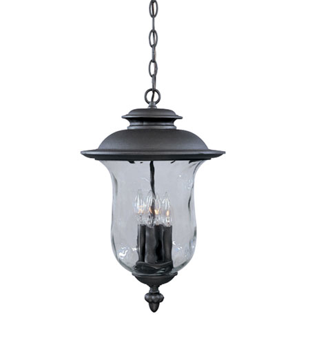 Designers Fountain Willow Creek 4 Light Outdoor Hanging Lantern in Oil Rubbed Bronze 2294-ORB