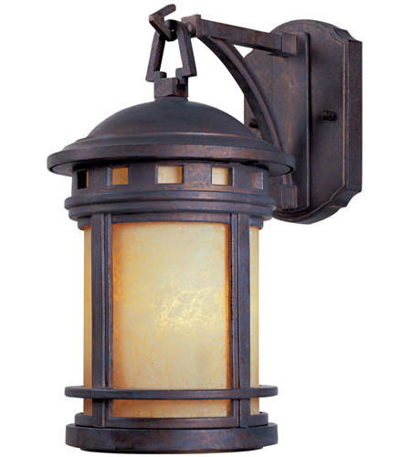 Designers Fountain Sedona 1 Light Outdoor Wall Lantern in Mediterranean Patina 2370-AM-MP photo