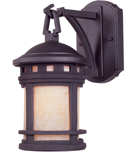 Designers Fountain Sedona 1 Light Outdoor Wall Lantern in Oil Rubbed Bronze 2370-AM-ORB photo