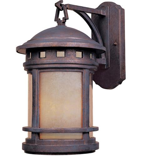 Designers Fountain Sedona 3 Light Outdoor Wall Lantern in Mediterranean Patina 2391-AM-MP photo