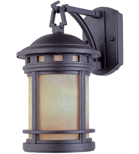 Designers Fountain 2391-AM-ORB Sedona 3 Light 20 inch Oil Rubbed Bronze Outdoor Wall Lantern in Amber photo