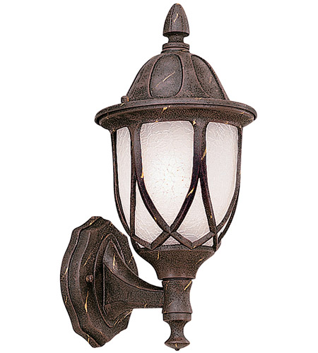 Designers Fountain Capella 1 Light Outdoor Wall Lantern in Autumn Gold 2867-AG photo