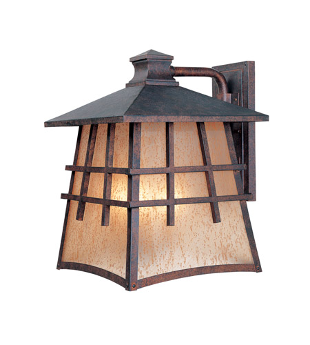 Designers Fountain 30721-MP Oak Park 4 Light 17 inch Mediterranean Patina Outdoor Wall Lantern photo