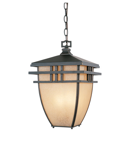 Designers Fountain 30834-ABP Dayton 3 Light 11 inch Aged Bronze Patina Outdoor Hanging Lantern photo