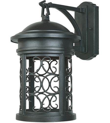 Designers Fountain 31111-ORB Ellington 1 Light 13 inch Oil Rubbed Bronze Outdoor Wall Lantern photo