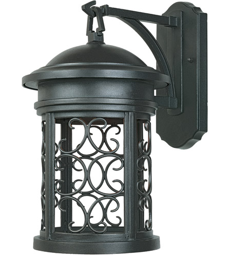 Designers Fountain Ellington 1 Light Outdoor Wall Lantern (Dark Sky) in Oil Rubbed Bronze 31121-ORB photo