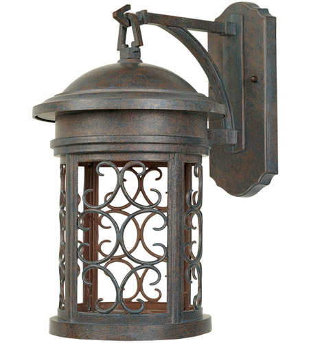Designers Fountain 31131-MP Ellington 1 Light 20 inch Mediterranean Patina Outdoor Wall Lantern photo