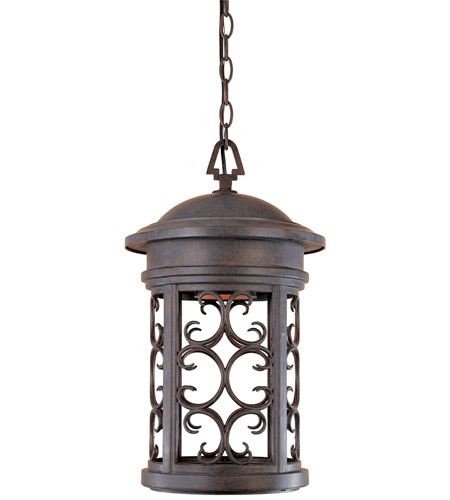 Designers Fountain 31134-MP Ellington 1 Light 11 inch Mediterranean Patina Outdoor Hanging Lantern photo