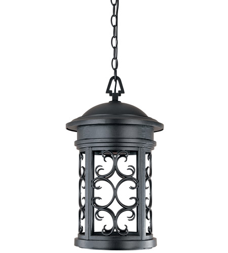 Designers Fountain 31134-ORB Ellington 1 Light 11 inch Oil Rubbed Bronze Outdoor Hanging Lantern photo