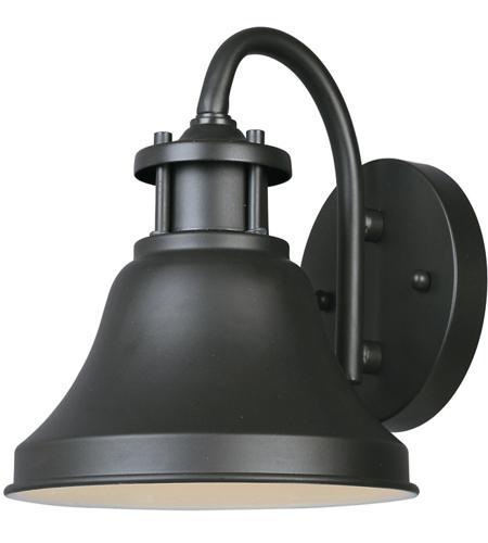 Designers Fountain 31311 Bz Bayport 1 Light 8 Inch Bronze Outdoor Wall Lantern