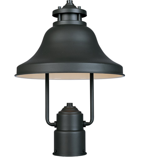 Designers Fountain 31336-BZ Bayport 1 Light 15 inch Bronze Outdoor Post Lantern photo