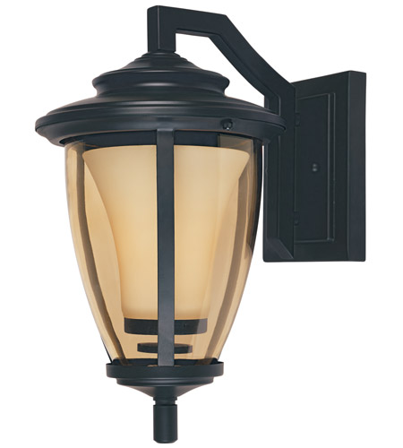 Designers Fountain Stockholm 1 Light Outdoor Wall Lantern in Oil Rubbed Bronze 31711-ORB photo