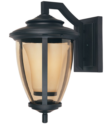 Designers Fountain Stockholm 1 Light Outdoor Wall Lantern in Oil Rubbed Bronze 31721-ORB photo