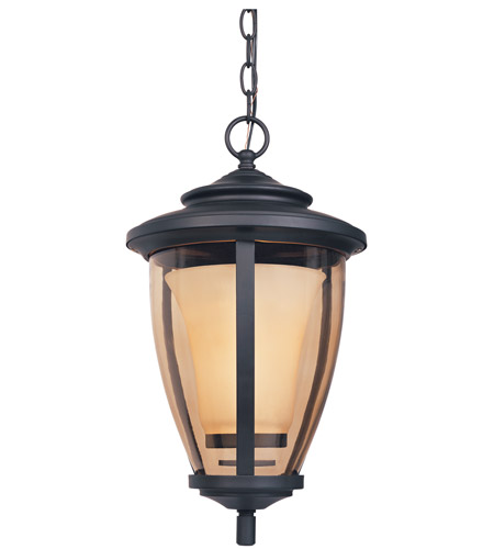 Designers Fountain Stockholm 1 Light Outdoor Hanging Lantern in Oil Rubbed Bronze 31734-ORB photo