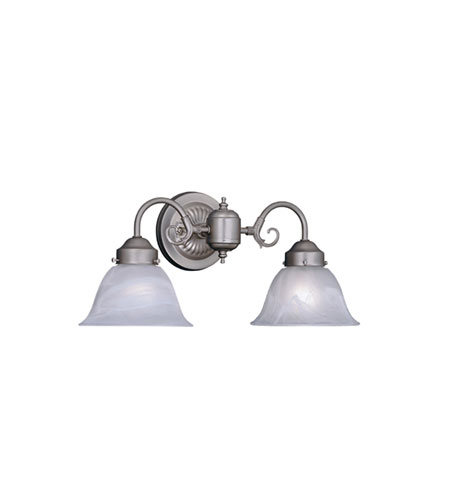 Designers Fountain Bistro 2 Light Bath Bar in Pewter 4257-AL-PW photo