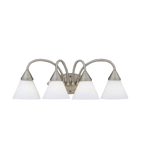 Designers Fountain Ultra 4 Light Bath Bar in Pewter 4494-PW photo