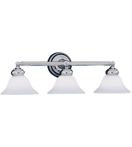 Designers Fountain 4963-CH Opal Essence 3 Light 27 inch Chrome Bath Bar Wall Light photo