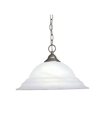 Designers Fountain Palladium 1 Light Pendant in Pewter 5692-PW photo