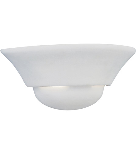 Designers Fountain 6031-WH Value 1 Light 12 inch White Wall Sconce Wall Light