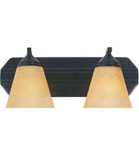 Designers Fountain Piazza 2 Light Bath Bar in Oil Rubbed Bronze 6602-ORB photo