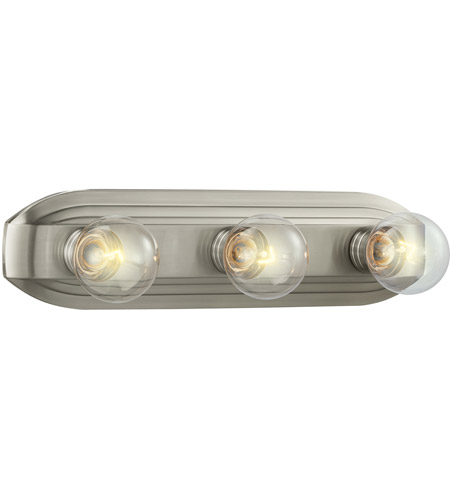 Designers Fountain 6613-BN Value 3 Light 18 inch Brushed Nickel Bath Bar Wall Light