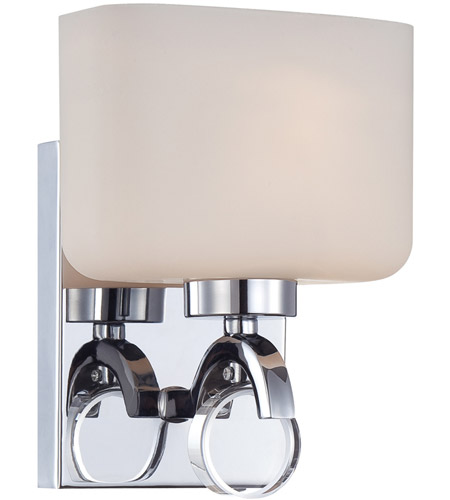 Designers Fountain 6621-CH Venetian 1 Light 7 inch Chrome Wall Sconce Wall Light
