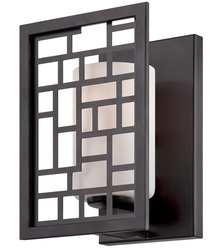 Designers Fountain 6721-ORB Trellis 1 Light 6 inch Oil Rubbed Bronze Wall Sconce Wall Light
