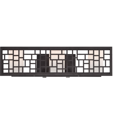 Designers Fountain 6723-ORB Trellis 3 Light 22 inch Oil Rubbed Bronze Bath Bar Wall Light