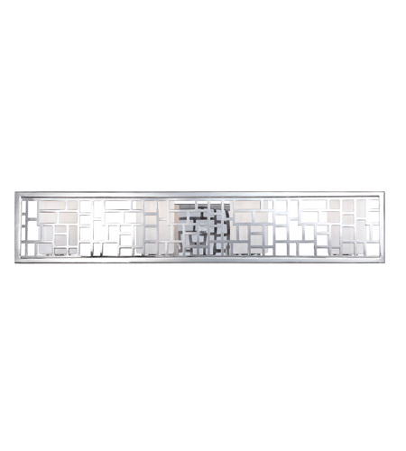 Designers Fountain 6724-CH Trellis 4 Light 20 inch Chrome Bath Bar Wall Light photo