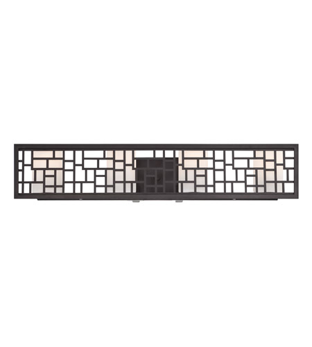 Designers Fountain 6724-ORB Trellis 4 Light 20 inch Oil Rubbed Bronze Bath Bar Wall Light photo