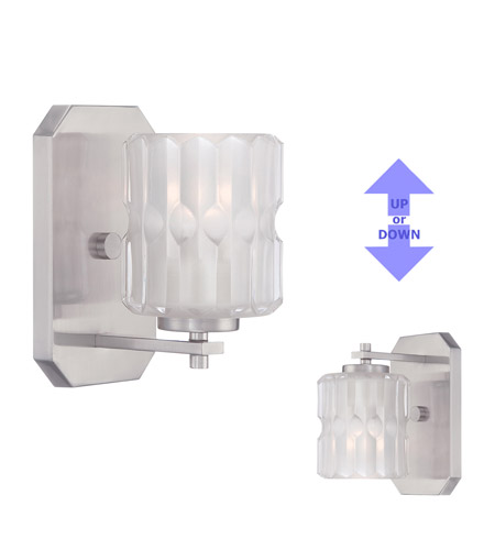 Designers Fountain 67601-SP Valeta 1 Light 5 inch Satin Platinum Wall Sconce Wall Light 67601-SP_ALT.jpg