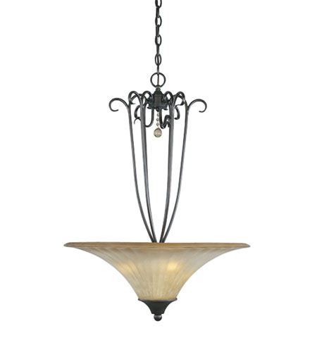 Designers Fountain Arabella 3 Light Pendant in Dark Tahoe 80331-DT photo