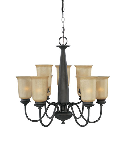 Designers Fountain Arlington 9 Light Chandelier in Oil Rubbed Bronze 80789-ORB photo