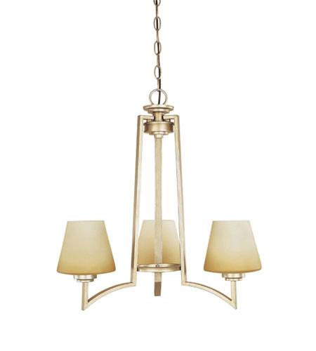 Designers Fountain Antigua 3 Light Chandelier in Legacy Gold 81483-LG photo