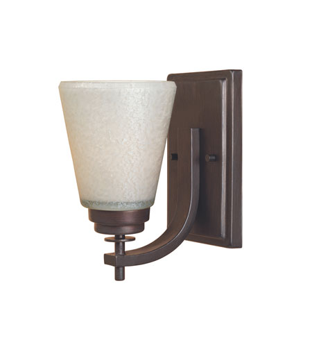 Designers Fountain Harlow 1 Light Wall Sconce in Tuscana 81601-TU photo