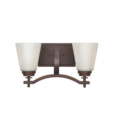 Designers Fountain Harlow 2 Light Bath Bar in Tuscana 81602-TU photo