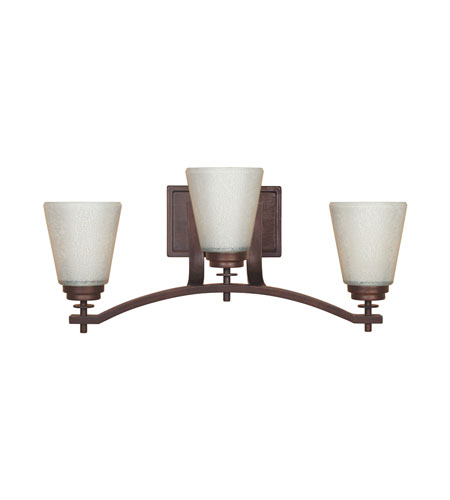 Designers Fountain Harlow 3 Light Bath Bar in Tuscana 81603-TU photo