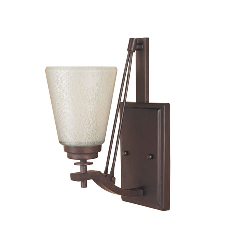 Designers Fountain Harlow 1 Light Wall Sconce in Tuscana 81607-TU photo