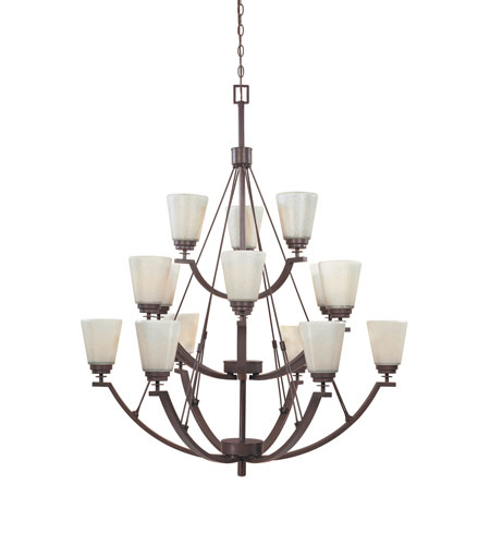 Designers Fountain Harlow 15 Light Chandelier in Tuscana 816815-TU photo